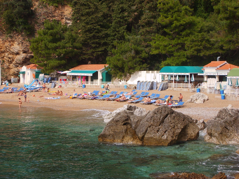 Черногория будва пляж могрен фото